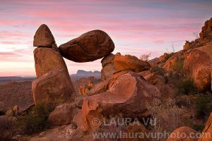Balanced Rock - Big Bend National Park, Texas